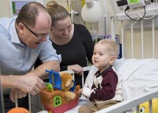Birmingham Children's Hospital RAPID study Ministerial Visit A